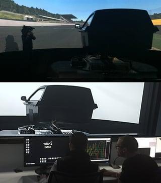 motorsports driving simulator realism