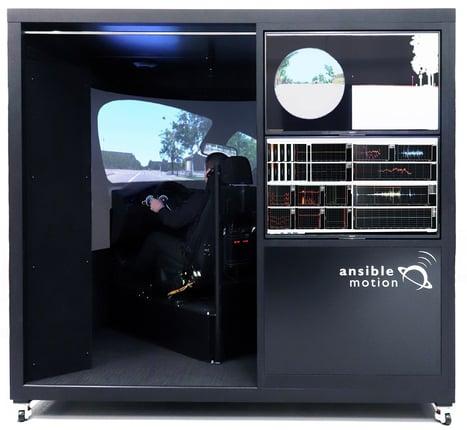 AML Theta C compact driving simulator