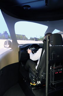 modular driving simulator for automotive OEMs and manufacturers