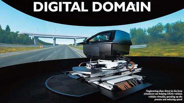digital domain automotive electronics