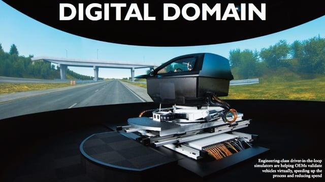 digital domain automotive electronics