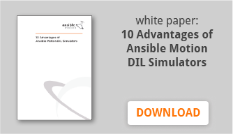 Download the 10 Advantages of Ansible Motion's Driving Simulator